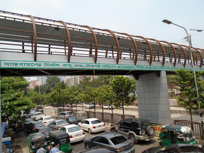 Steel Foot Over Bridge