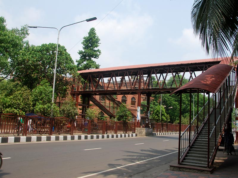 Carzon Hall foot Over Bridge